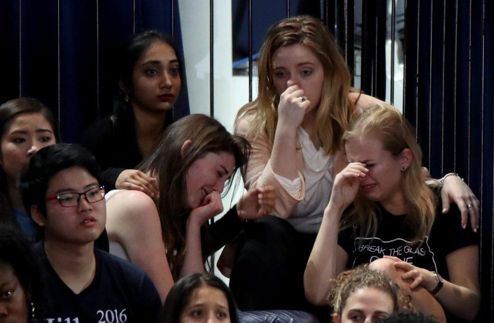 Votantes de Hillary Clinton